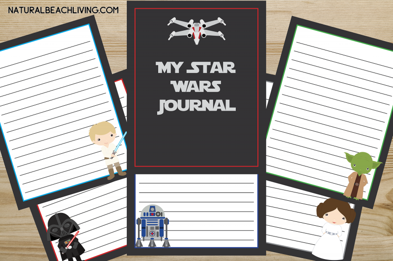 Free Star Wars Printables Journal for Kids