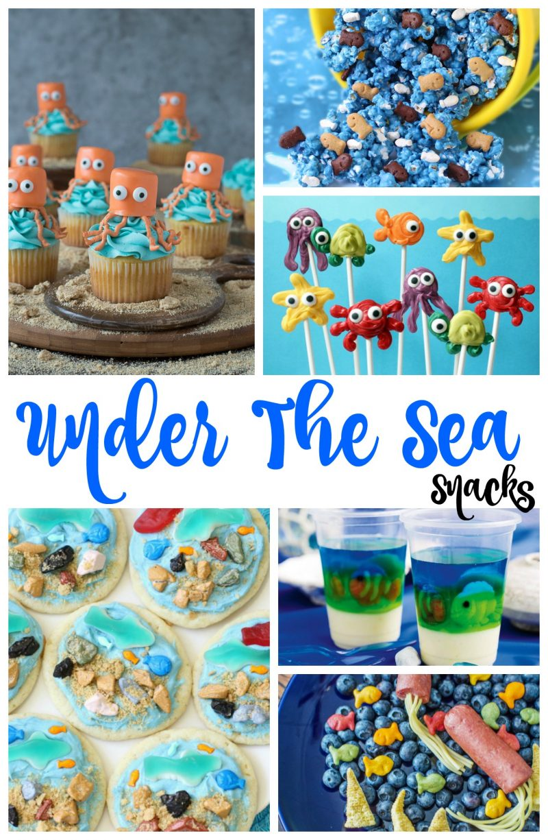 Beach Theme Party Decorating Ideas Part - 16: The Best Under The Sea Snacks For Kids, Birthday Party Ideas, Beach Theme,