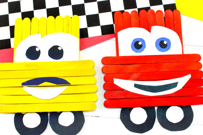 Disney Cars Crafts For Preschoolers