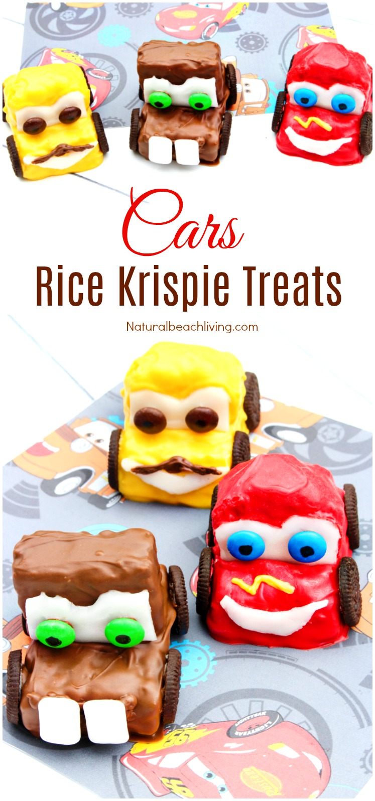 Cars Rice Krispie Treats, Cars Party