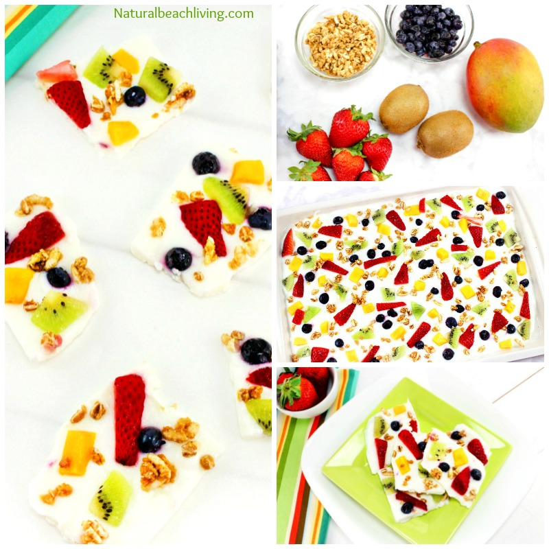Delicious Easy to Make Fruit Frozen Yogurt Bark Recipe