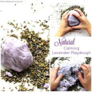 Amazing Natural Lavender Kids Play Dough Recipe