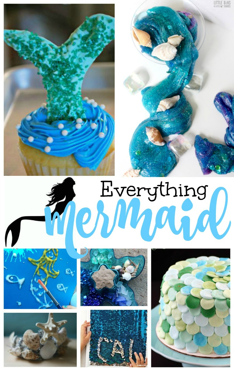 20 the best mermaid theme party ideas natural beach living - Th party theme ideas ...