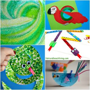 10+ Amazing Rainforest Crafts Kids Can Make