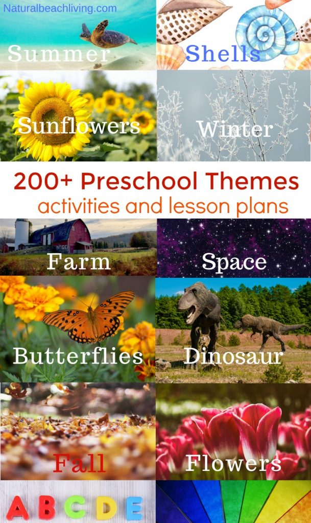 200+ of the Best Preschool Themes and Preschool Lesson Plans, Themes for Preschool and Kindergarten, Tons of Pre-K activities and printables, Free Preschool Weekly Themes, Perfect for weekly or monthly themed learning or unit studies, Pre K themes, Free Preschool Printables, Preschool activities, PRESCHOOL THEMES FOR THE YEAR