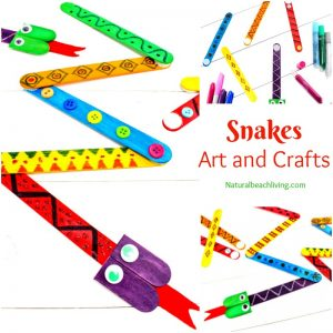 The Best Snake Crafts Preschoolers Love to Make