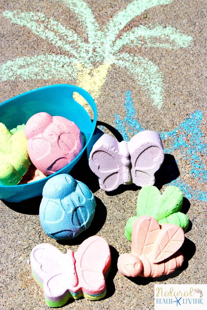 How to Make DIY Sidewalk Chalk Kids Will Love