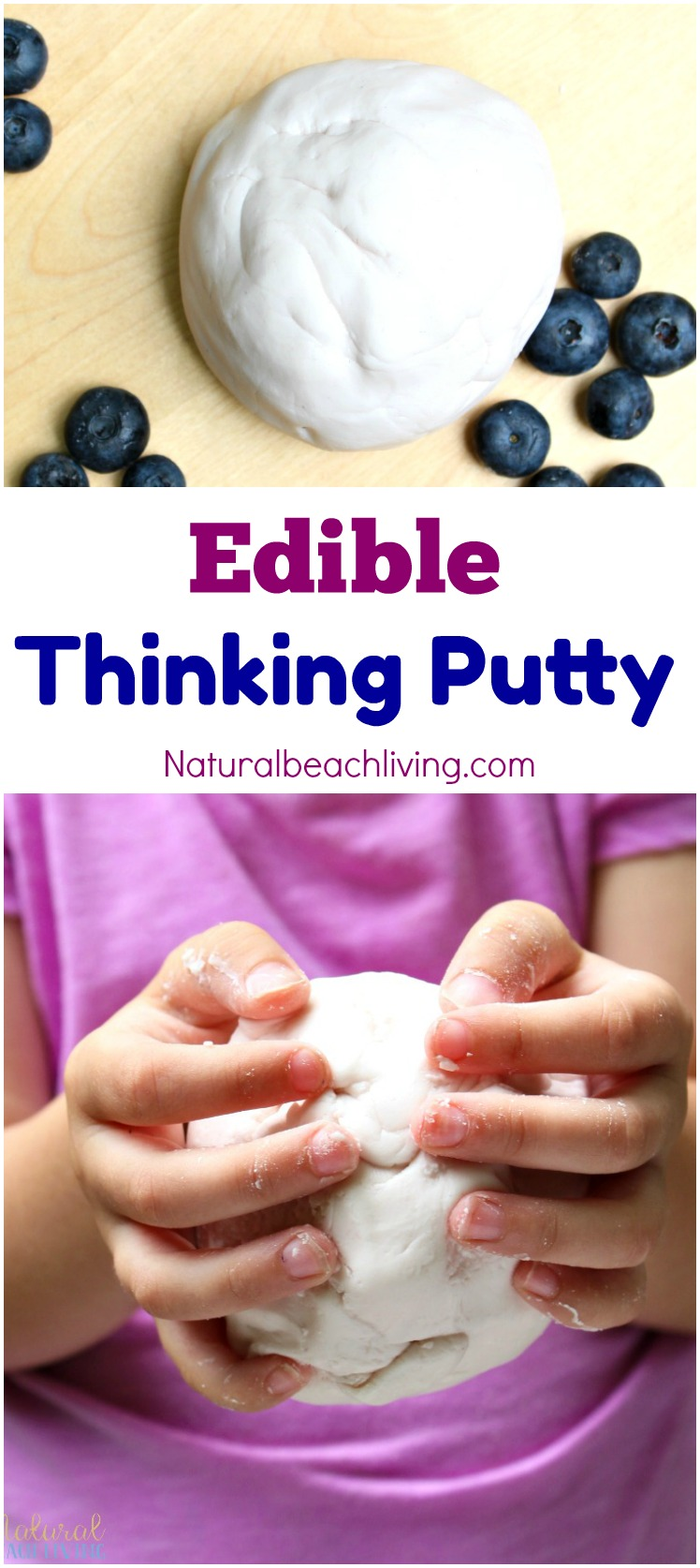 How to make edible thinking putty recipe
