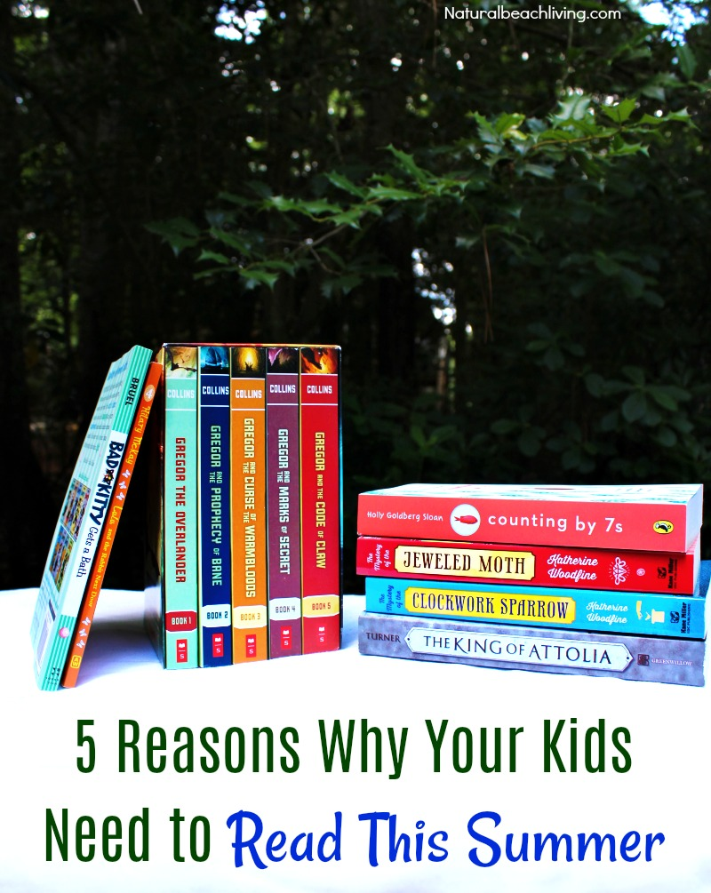 5 Reasons Why Your Kids Need to Read This Summer