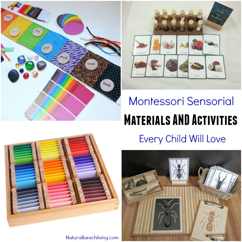 list of montessori materials for preschool montessori sensorial materials every child will 412