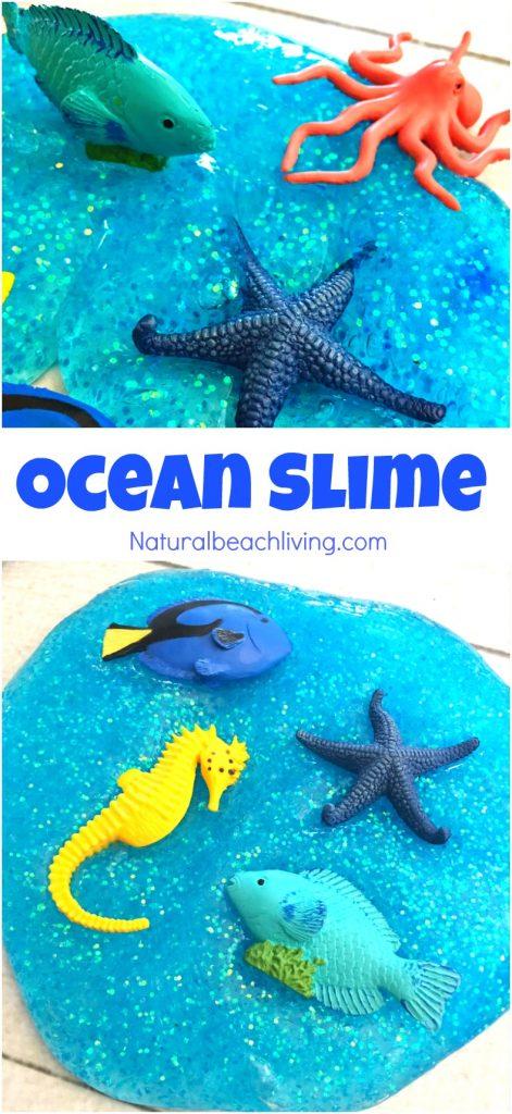 Ocean Jiggly Slime