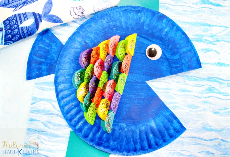 Fun Paper Plate Fish Craft  sc 1 st  Natural Beach Living & Super Cute Paper Plate Fish Craft for Kids - Natural Beach Living