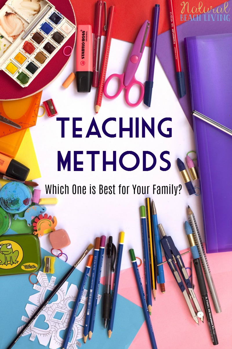 Homeschool Methods, Teaching Methods, Homeschooling styles, Montessori, Unschooling, Waldorf, Charlotte Mason, Unit Studies, Classical education & more