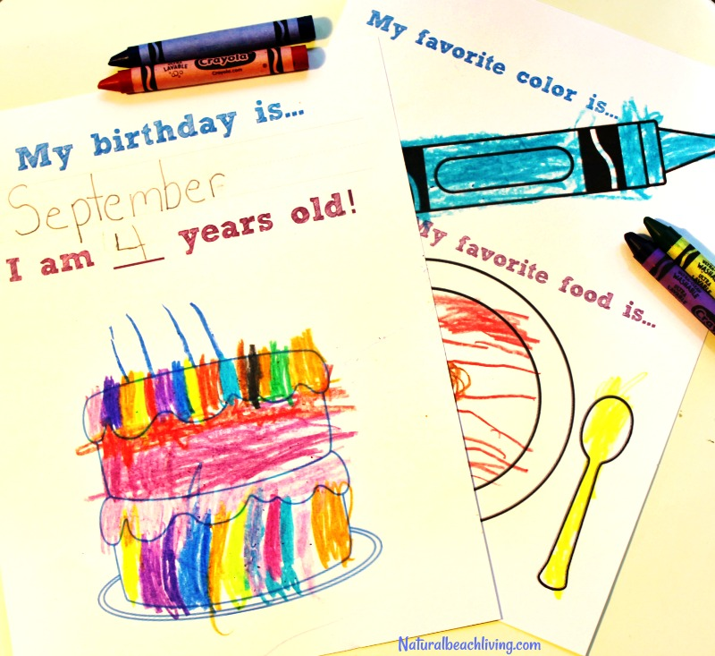All About Me Preschool Theme Printables, perfect for Back to School or All About Me Theme. Kindergarten Activities, All About Me Preschool Activities Theme