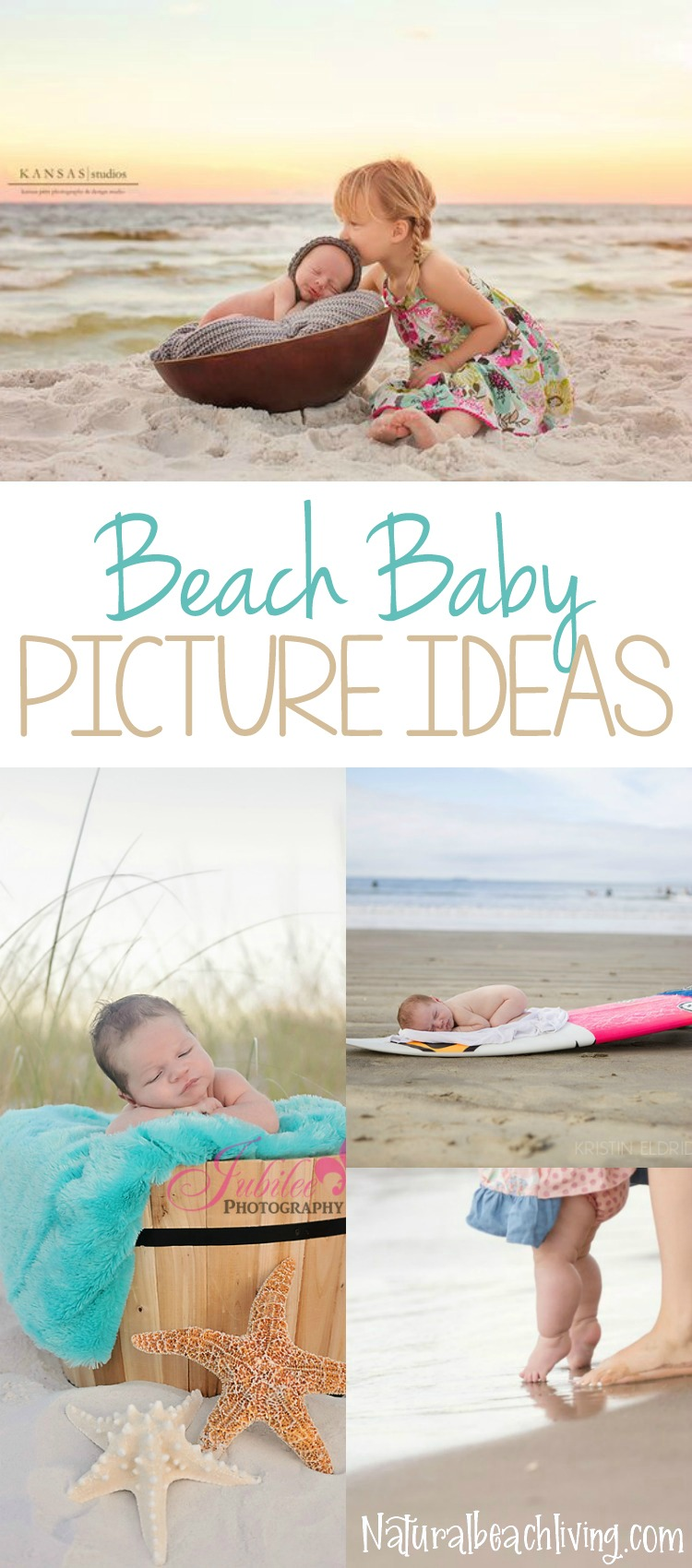 How to Take The Best Baby Beach Pictures, Baby Picture Ideas, Easy to recreate picture ideas for children, Fun & Creative Picture Ideas, Baby Picture ideas newborn