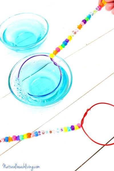 How to Make DIY Bubble Wands & Homemade Bubbles