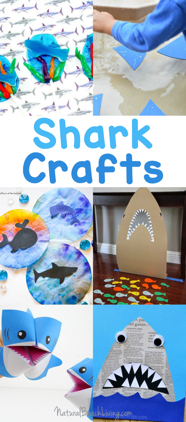 25+ Shark Week Crafts and Activities for Kids