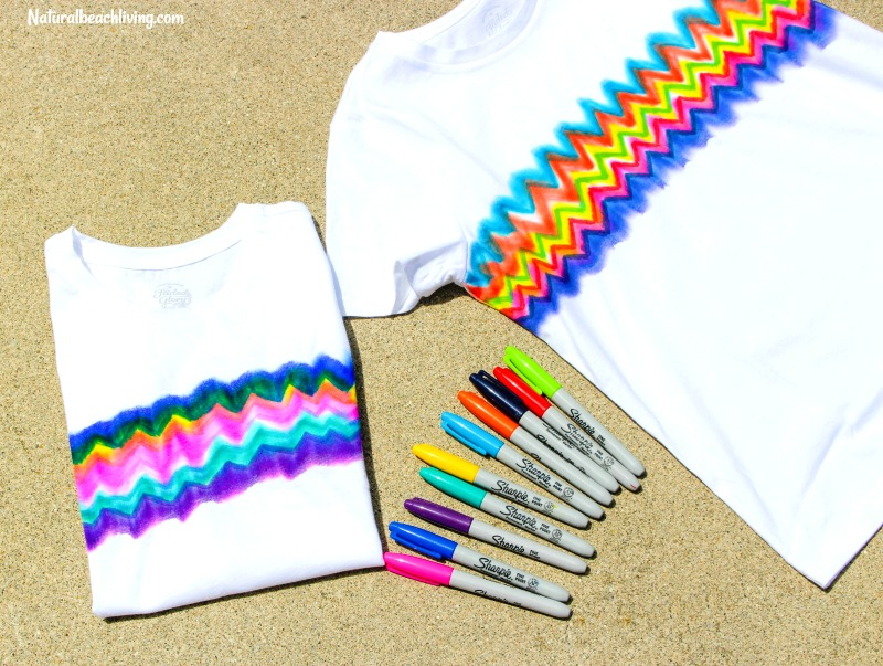 How to make super cool sharpie tie dye shirts natural beach living learn how to make super cool sharpie tie dye shirts tie dye craft kid ccuart Images