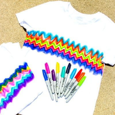 How to Make Super Cool Sharpie Tie Dye Shirts