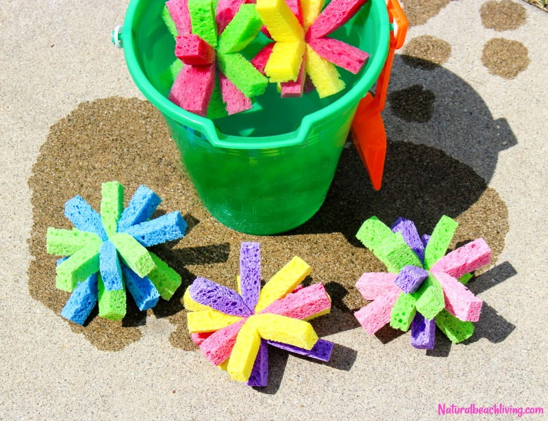 How to Make Super Soaker Sponge Balls Kids Will Love, sponge balls DIY, Water Bombs Summer fun, Kids Activities, Summer Craft Idea, Cheap Water Activities