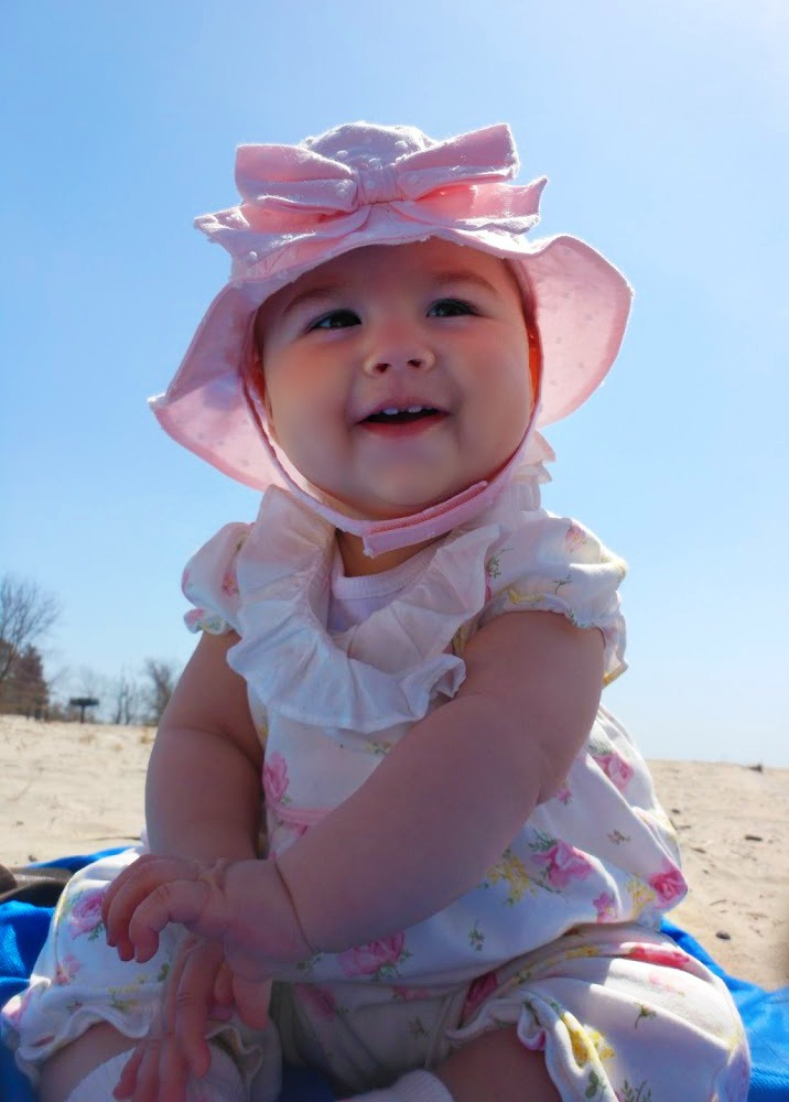How To Take The Best Baby Beach Pictures
