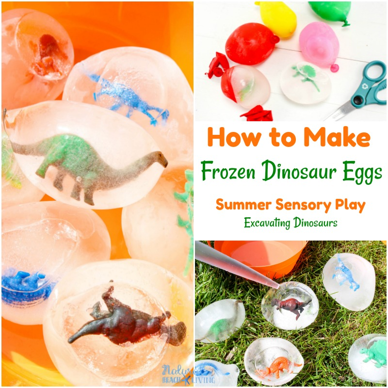 How to Make Frozen Dinosaur Eggs Kids Love