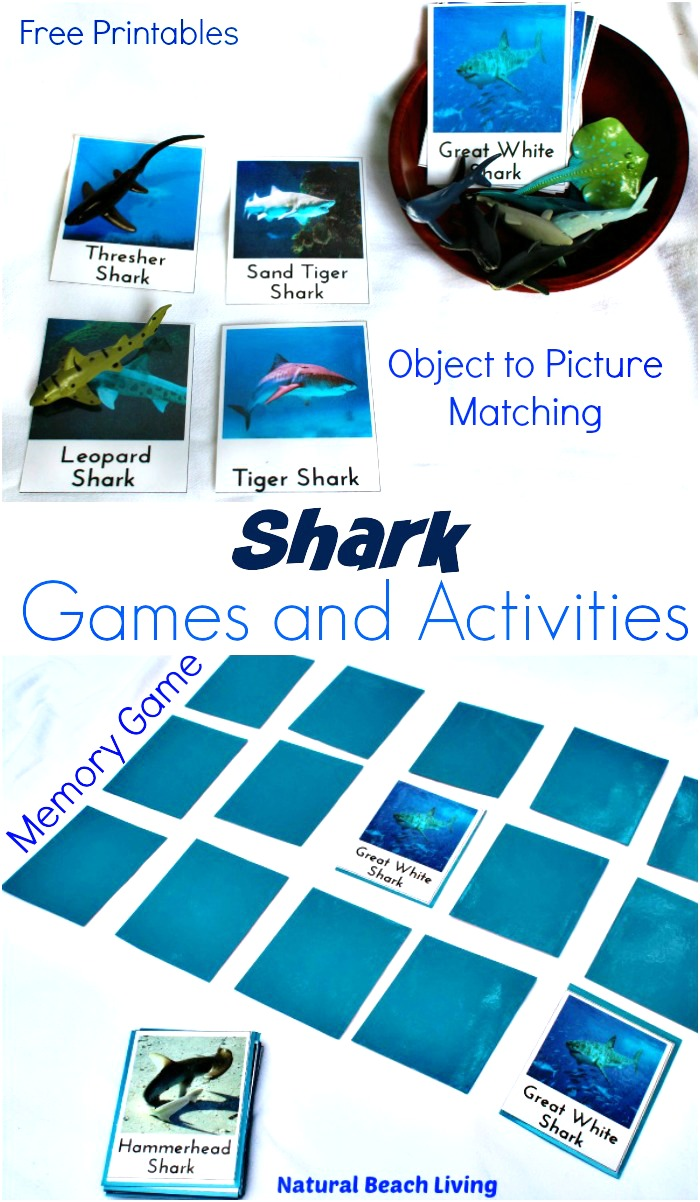 25+ Awesome Shark Week Crafts and Activities for Kids, Over 30 Shark Week Activities, free printables, Shark Theme Party ideas, Shark Week Food, Shark Crafts, Games & more