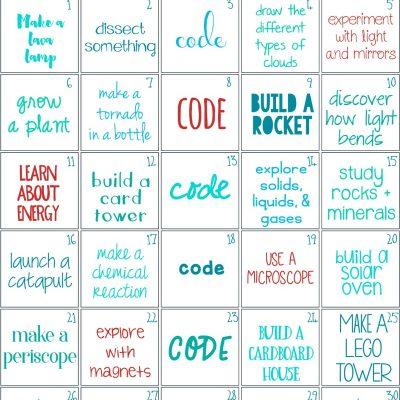 30 days of STEM Activities – STEM Challenge