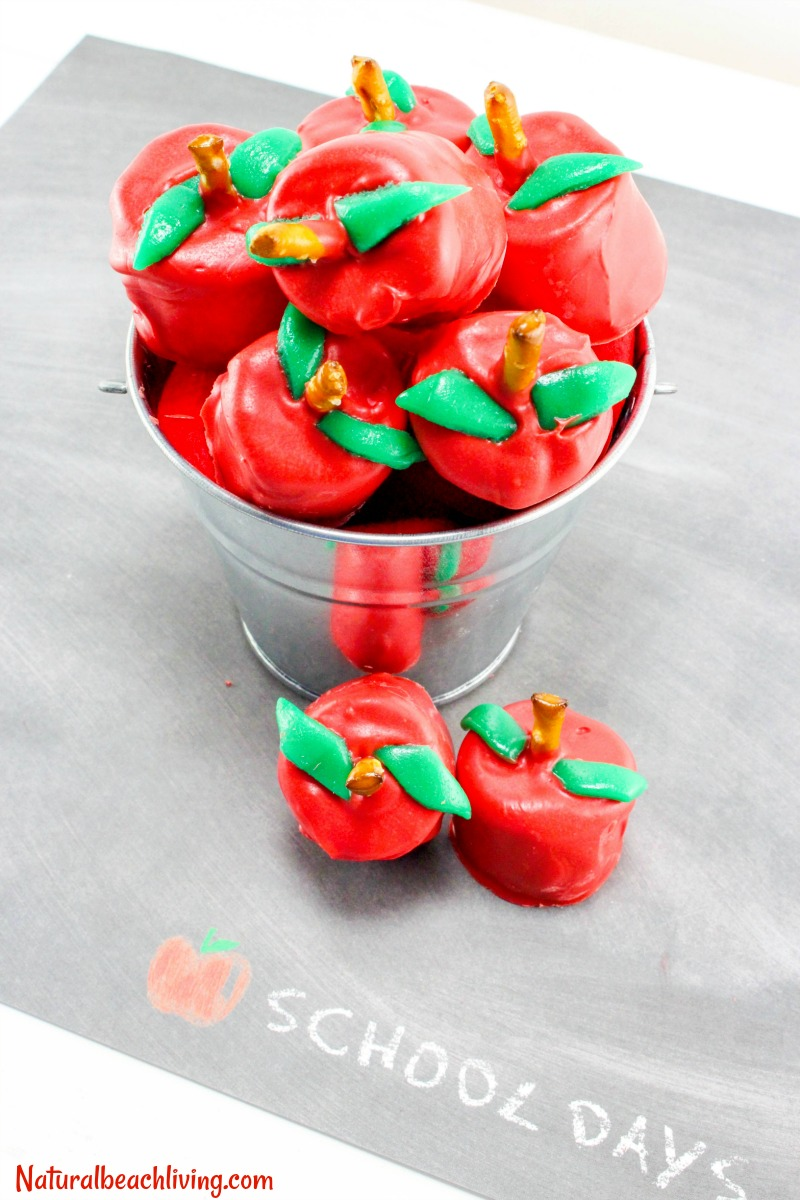 Apple Marshmallows, Back to School Snack, School Party snack, Delicious Chocolate Marshmallow Recipe, Homemade Chocolate Marshmallows, Apple Theme