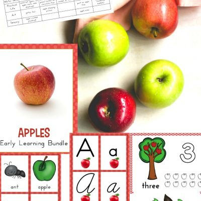 The Best Kindergarten and Preschool Apple Theme Unit