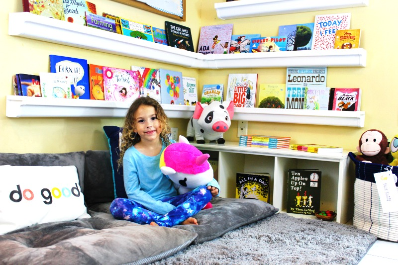How To Set Up A Reading Nook Kids Love Plus Diy Rain
