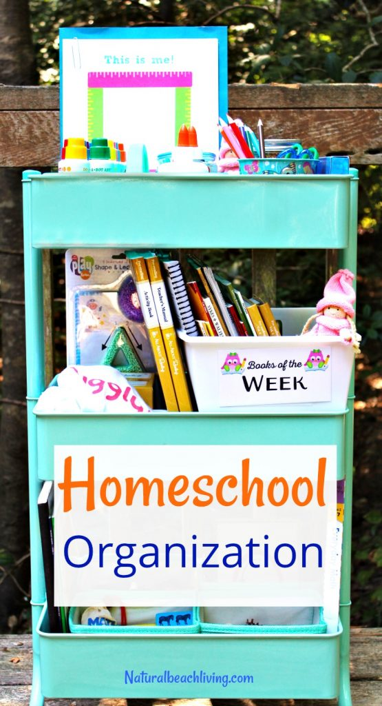 5 Homeschool Organization Tips for Successful Schooling, How to Organize for Back to School, Homeschool Preschool, Homeschool room tips, Homeschooling organization for small spaces, Free
