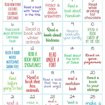 The Ultimate Christmas Reading Challenge for Kids