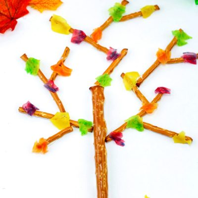 Fall Snacks Kids Love to Make and Eat- Edible Trees