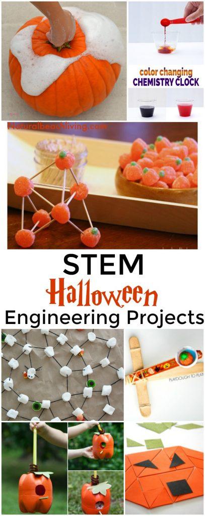 Halloween STEM for Preschool and Kindergarten, Halloween Engineering Projects, Pumpkin Activities, Halloween Science, Halloween Slime, Hands-on activities
