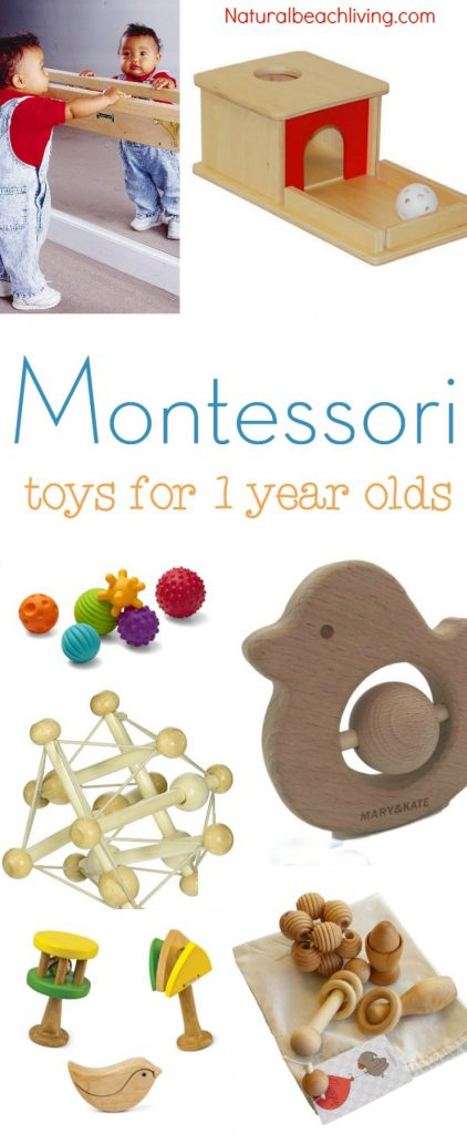 The Best Montessori Toys for 1 year olds - Natural Beach ...