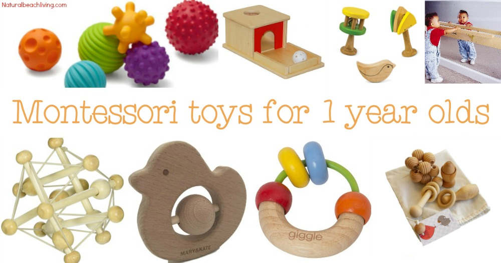 The Best Montessori Toys for 1 year olds, Montessori Baby Toys, Montessori home, Montessori gifts for 1 year olds, Montessori Toys Toddlers love, Gift ideas
