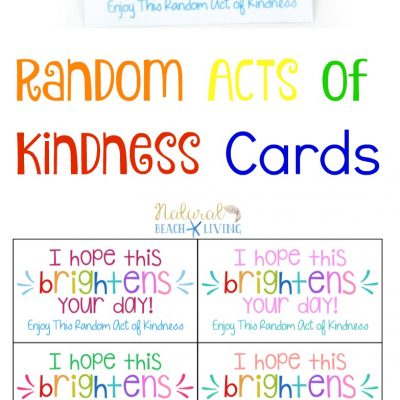 The Best Random Acts of Kindness Printable Cards Free