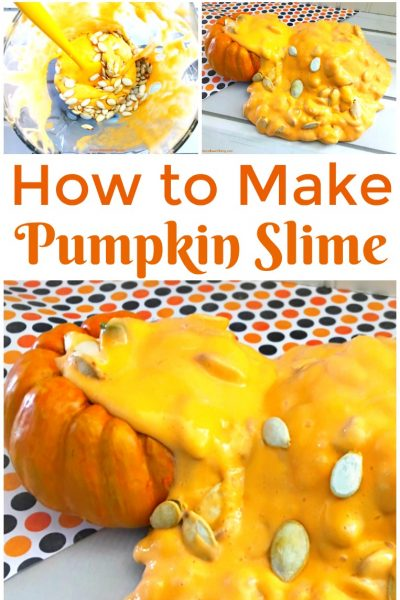 How to Make Saline Solution Slime for Pumpkin Jiggly Slime