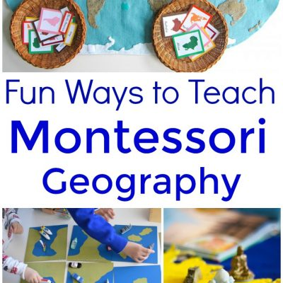 20+ Ways to Teach Montessori Geography Kids Will Love