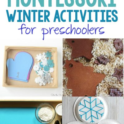 30+ Best Montessori Winter Activities for Preschool and Kindergarten