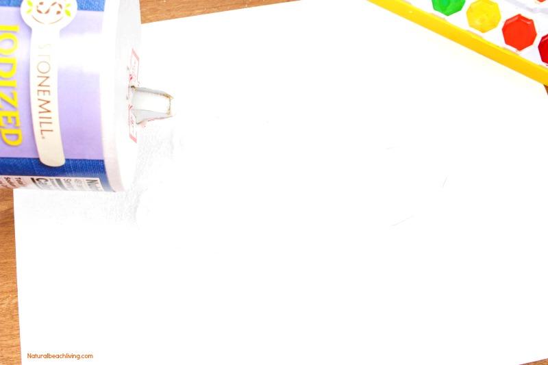 How to Make The Best Thanksgiving Turkey Salt Painting, Watercolor Salt Painting, Turkey Preschool Craft, Fun Fall Turkey craft kids love, Raised salt painting, process art #Thanksgivingcrafts #Turkey #Thanksgiving #Fallcraft #saltpainting #preschool