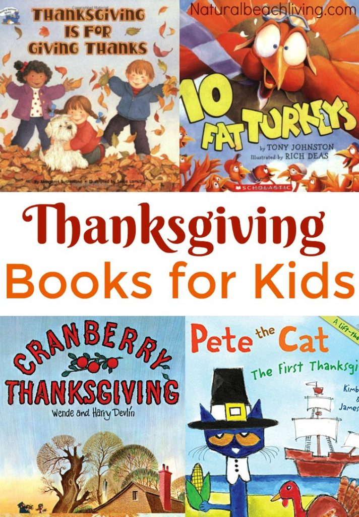 Best Thanksgiving books for kids