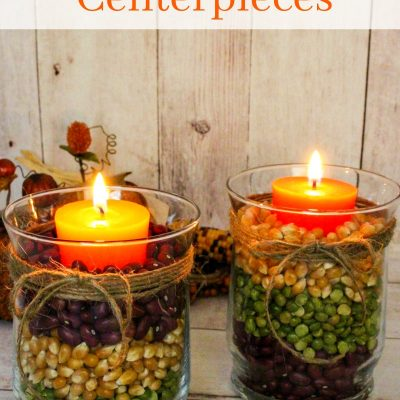 Easy Fall Table Centerpieces – Harvest Centerpieces