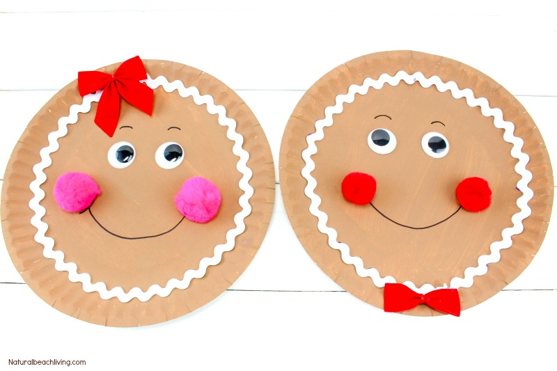 The Best Gingerbread Paper Plate Craft, Gingerbread Craft Ideas, Gingerbread Man Crafts Preschoolers, Gingerbread Christmas Crafts, Gingerbread Activities for Kids, Kid Crafts #crafts #Christmascrafts #Gingerbread #Gingerbreadman #Preschoolcrafts