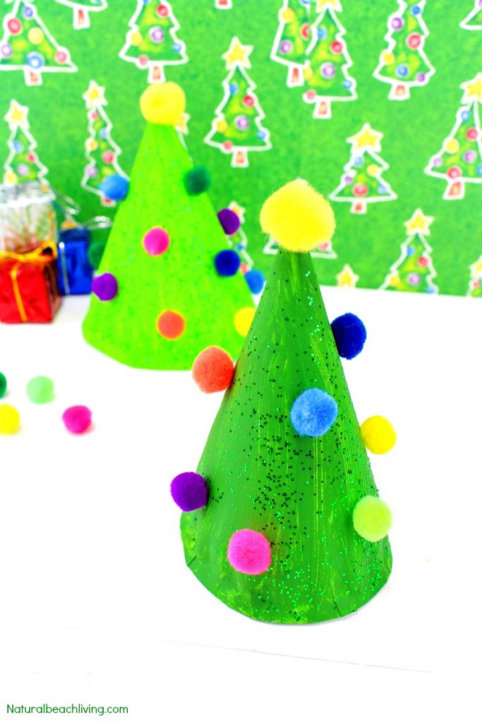 Easy Paper Plate Christmas Crafts Tree Craft For