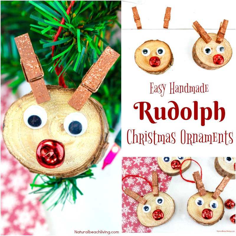 Easy Christmas Ornaments Kids Make, Unique Christmas Ornaments, Kid Made Christmas Ornaments, Personalized Christmas Ornaments, Homemade Christmas Ornaments, #Christmascrafts #homemadeChristmasornaments #Christmas