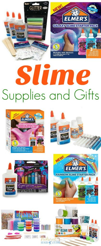 The ultimate slime supplies and slime gift ideas natural beach living the ultimate slime supplies and gift ideas ccuart Gallery