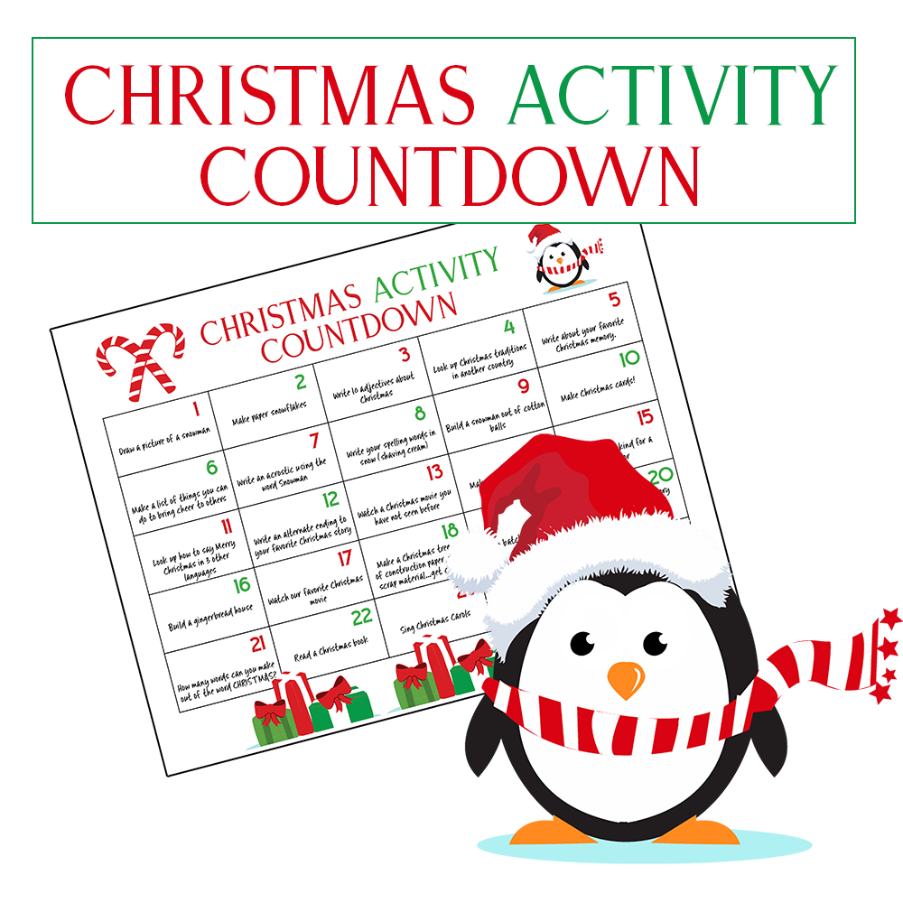 Kids Countdown Calendar : Ultimate christmas calendar countdown kids will love