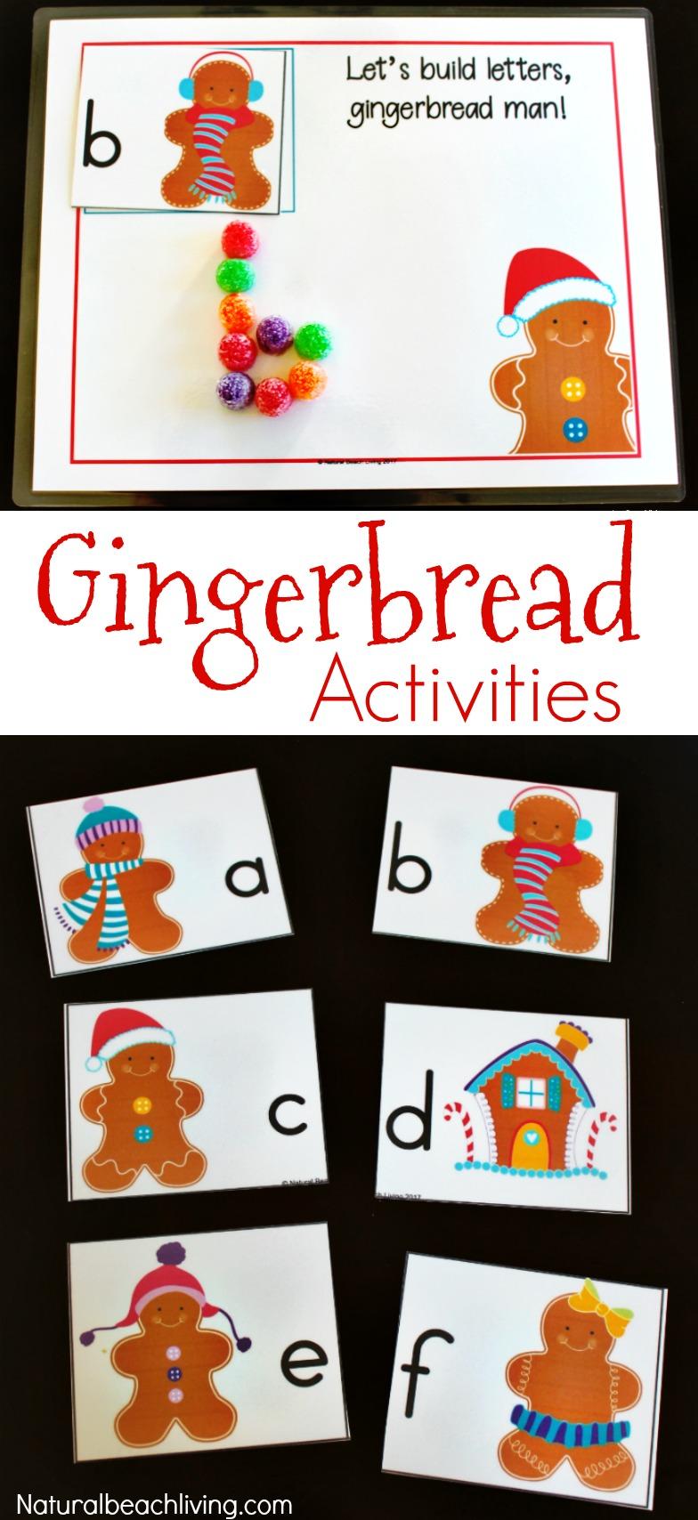 gingerbread activities preschool gingerbread kindergarten and preschool theme lesson plan 896